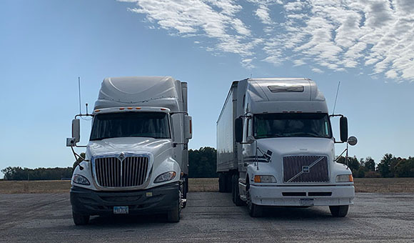 Trucks with Trucking Insurance or Business Insurance in Maumee, Ohio